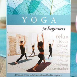 YOGA For Beginners Lifestyle Book NEW